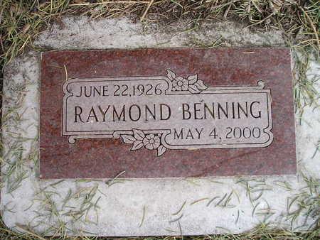 BENNING, RAYMOND - Bremer County, Iowa | RAYMOND BENNING