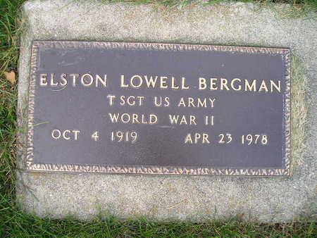 BERGMAN, ELSTON LOWELL - Bremer County, Iowa | ELSTON LOWELL BERGMAN