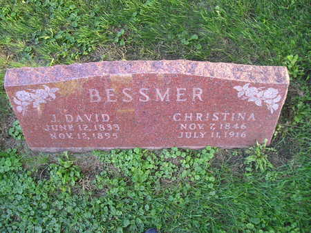 BESSMER, J DAVID - Bremer County, Iowa | J DAVID BESSMER