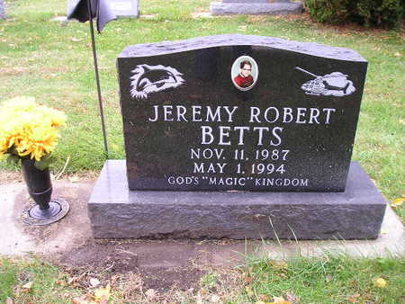 BETTS, JEMERY ROBERT - Bremer County, Iowa | JEMERY ROBERT BETTS