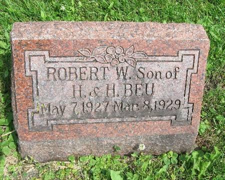 BEU, ROBERT W. - Bremer County, Iowa   ROBERT W. BEU