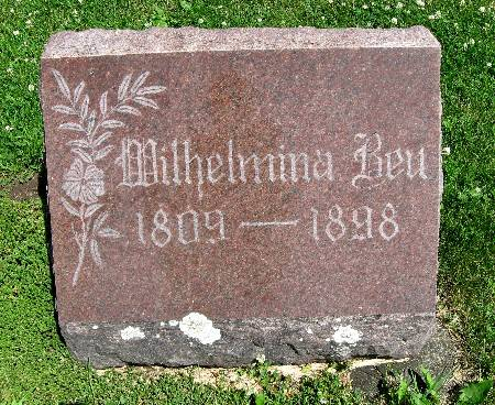 BEU, WILHELMINA - Bremer County, Iowa   WILHELMINA BEU