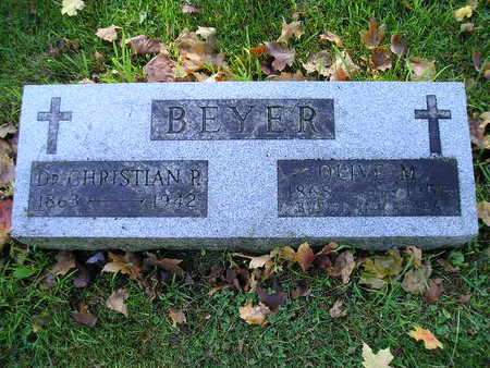 BEYER, OLIVE M - Bremer County, Iowa | OLIVE M BEYER