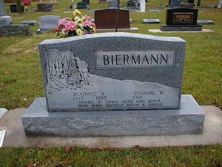 BIERMANN, ROMANE W - Bremer County, Iowa | ROMANE W BIERMANN