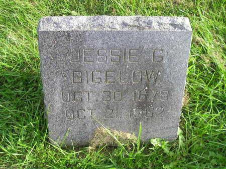 BIGELOW, JESSIE G - Bremer County, Iowa   JESSIE G BIGELOW
