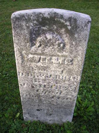 BILLS, WILLIE - Bremer County, Iowa | WILLIE BILLS