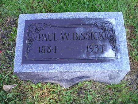 BISSICK, PAUL W - Bremer County, Iowa | PAUL W BISSICK