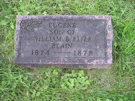 BLAIN, EUGENE - Bremer County, Iowa | EUGENE BLAIN