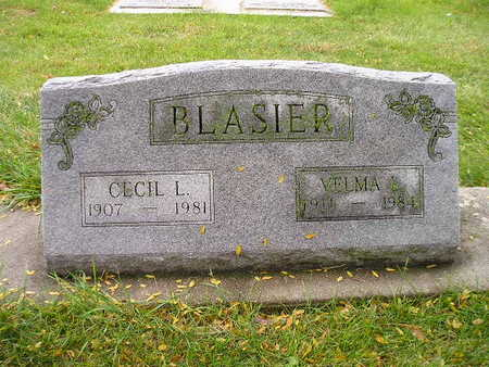 BLASIER, VELMA - Bremer County, Iowa | VELMA BLASIER