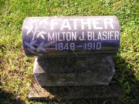 BLASIER, MILTON J - Bremer County, Iowa   MILTON J BLASIER