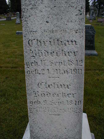 BOEDECKER, CHRISTIAN - Bremer County, Iowa | CHRISTIAN BOEDECKER