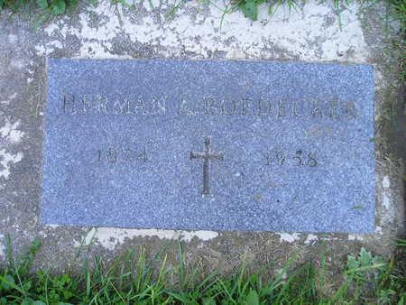 BOEDECKER, HERMAN A - Bremer County, Iowa | HERMAN A BOEDECKER