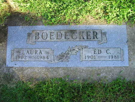 BOEDECKER, LAURA - Bremer County, Iowa | LAURA BOEDECKER