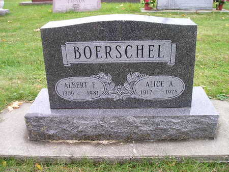 BOERSCHEL, ALBERT F - Bremer County, Iowa | ALBERT F BOERSCHEL
