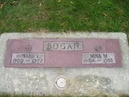 BOGAN, MINA M - Bremer County, Iowa | MINA M BOGAN