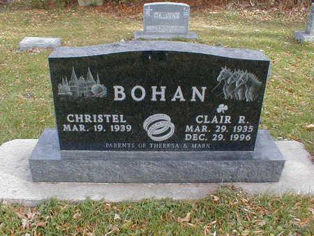 BOHAN, CLAIR R - Bremer County, Iowa | CLAIR R BOHAN