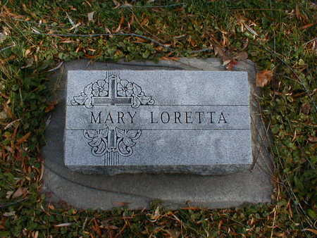 BOHAN, MARY LORETTA - Bremer County, Iowa | MARY LORETTA BOHAN