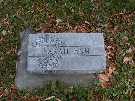 BOHAN, SARAH ANN - Bremer County, Iowa | SARAH ANN BOHAN