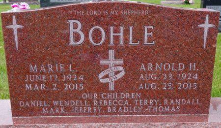 BOHLE, ARNOLD - Bremer County, Iowa   ARNOLD BOHLE