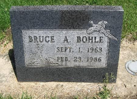 BOHLE, BRUCE A - Bremer County, Iowa   BRUCE A BOHLE