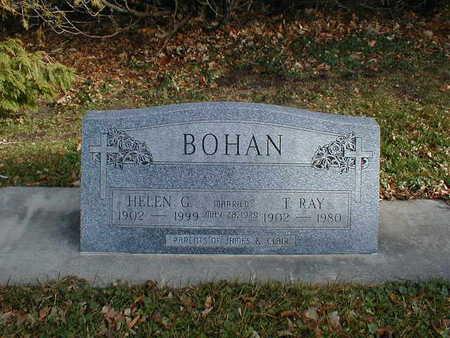 BOHAN, HELEN G - Bremer County, Iowa | HELEN G BOHAN