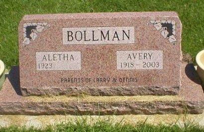 BOLLMAN, AVERY - Bremer County, Iowa | AVERY BOLLMAN