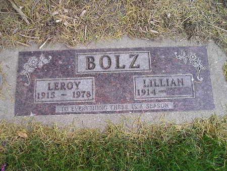 BOLZ, LEROY - Bremer County, Iowa | LEROY BOLZ