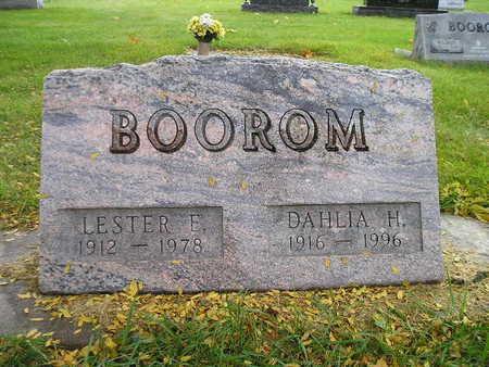 BOOROM, LESTER E - Bremer County, Iowa | LESTER E BOOROM
