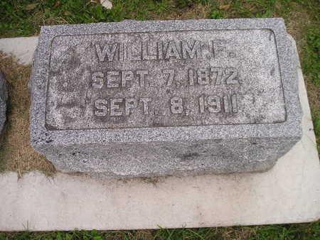 BOOROM, WILLIAM F - Bremer County, Iowa   WILLIAM F BOOROM