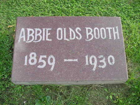 OLDS BOOTH, ABBIE - Bremer County, Iowa | ABBIE OLDS BOOTH