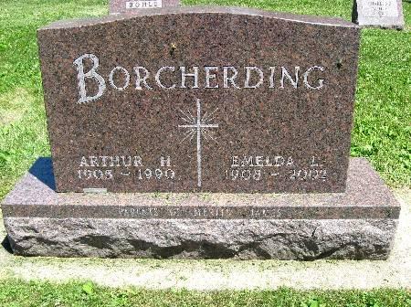 BORCHERDING, ARTHUR H. - Bremer County, Iowa   ARTHUR H. BORCHERDING