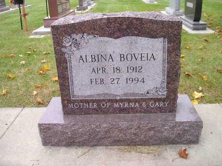 BOVEIA, ALBINA - Bremer County, Iowa | ALBINA BOVEIA