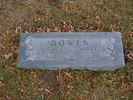 BOWEN, ALBERT L - Bremer County, Iowa | ALBERT L BOWEN