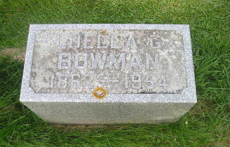 BOWMAN, LUELLA - Bremer County, Iowa   LUELLA BOWMAN