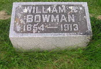 BOWMAN, WILLIAM - Bremer County, Iowa | WILLIAM BOWMAN