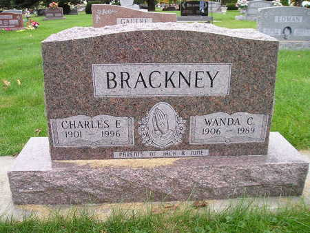 BRACKNEY, CHARLES E - Bremer County, Iowa | CHARLES E BRACKNEY