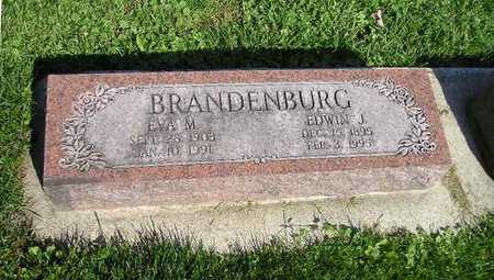 BRANDEBURG, EVA M - Bremer County, Iowa   EVA M BRANDEBURG