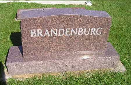 BRANDEBURG, EVAM, EDWIN J, MAX RICHARD, ARNOLD R, ADA R - Bremer County, Iowa | EVAM, EDWIN J, MAX RICHARD, ARNOLD R, ADA R BRANDEBURG