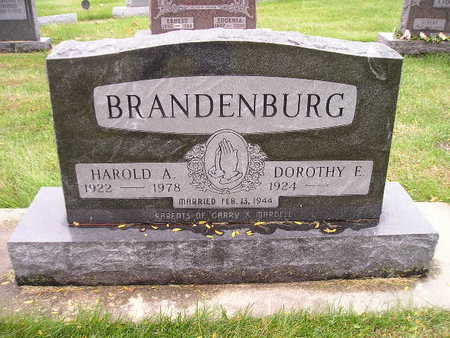 BRANDENBURG, DOROTHY E - Bremer County, Iowa | DOROTHY E BRANDENBURG