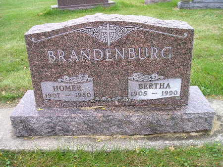 BRANDENBURG, BERTHA - Bremer County, Iowa | BERTHA BRANDENBURG