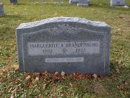 BRANDENBURG, MARGUERITE A - Bremer County, Iowa | MARGUERITE A BRANDENBURG