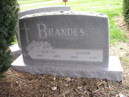 BRANDES, LOUISE - Bremer County, Iowa | LOUISE BRANDES