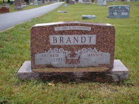 BRANDT, ARTHUR - Bremer County, Iowa | ARTHUR BRANDT