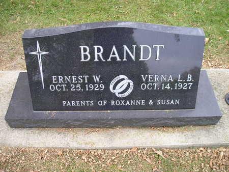 BRANDT, VERNA L B - Bremer County, Iowa | VERNA L B BRANDT