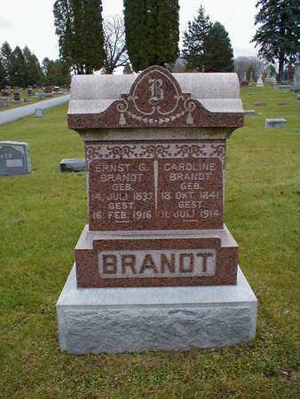 BRANDT, CAROLINE - Bremer County, Iowa | CAROLINE BRANDT