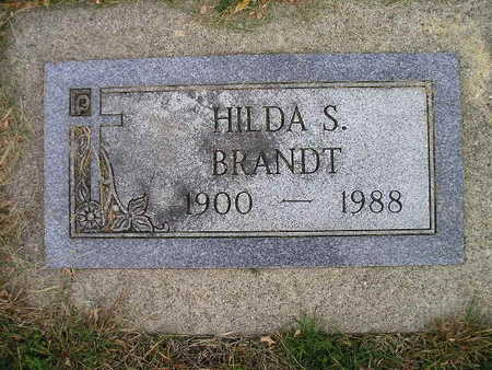 BRANDT, HILDA S - Bremer County, Iowa | HILDA S BRANDT