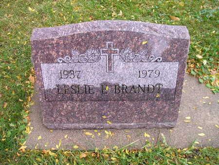 BRANDT, LESLIE E - Bremer County, Iowa | LESLIE E BRANDT
