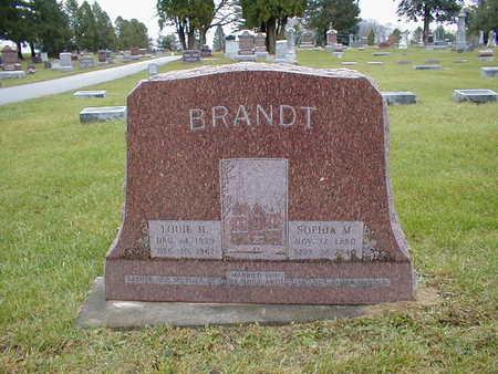 BRANDT, LOUIE H - Bremer County, Iowa | LOUIE H BRANDT