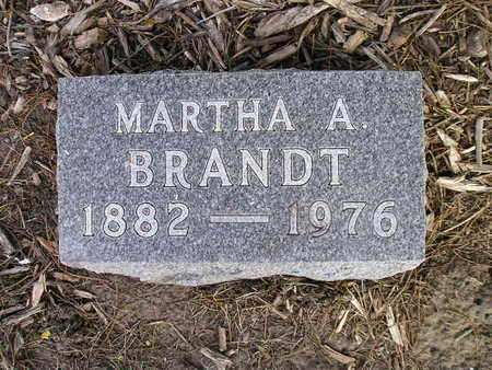 BRANDT, MARTHA A - Bremer County, Iowa | MARTHA A BRANDT