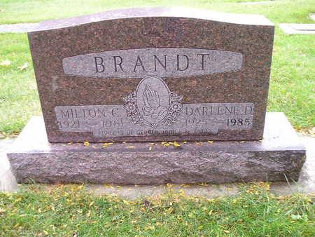 BRANDT, MILTON E - Bremer County, Iowa | MILTON E BRANDT